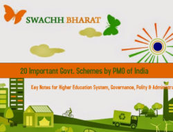 20 Important Govt. Schemes by PMO of India