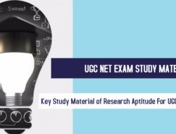 Key Study Material of Research Aptitude For UGC NET Exam-2