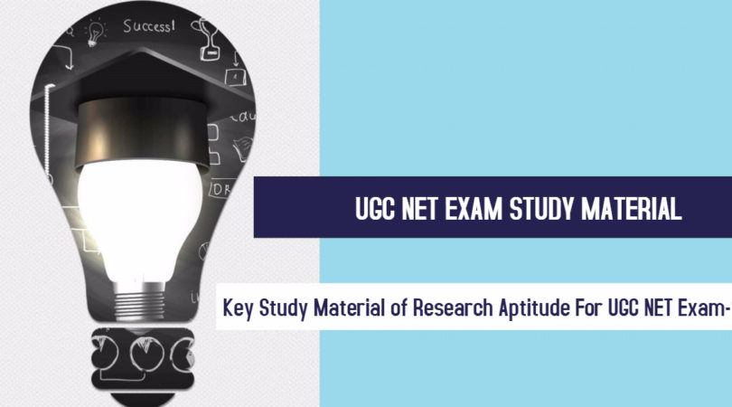 Key Study Material of Research Aptitude For UGC NET Exam-1