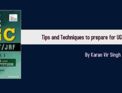 Tips and Techniques to prepare for UGC NET By Karan Vir Singh Madaan