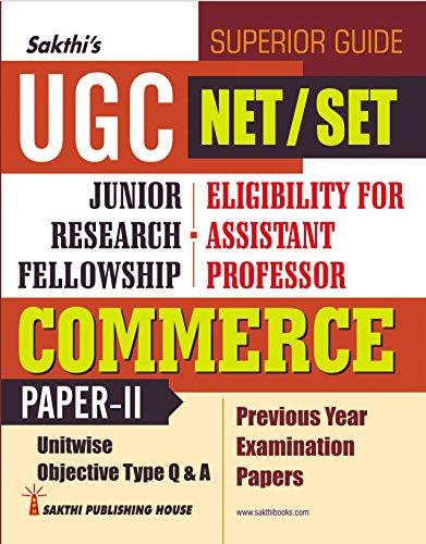 Best Book for NTA CBSE UGC NET Commerce Exam