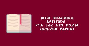 Research Aptitude MCQ Based On Solved Paper | Updated