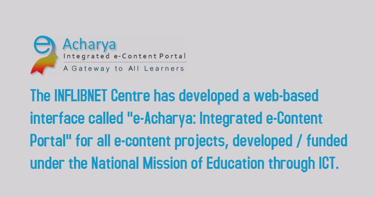 #11 e-Acharya