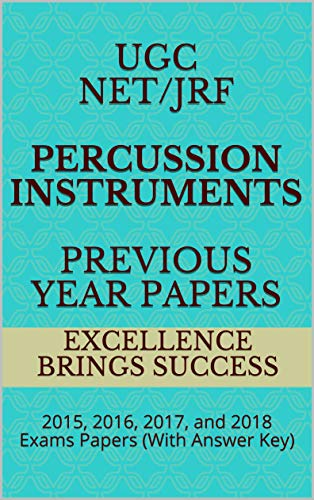Books Recommended For NTA UGC NET Percussion Instruments